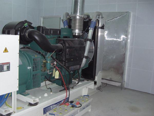 通信公司发电机房噪音治理