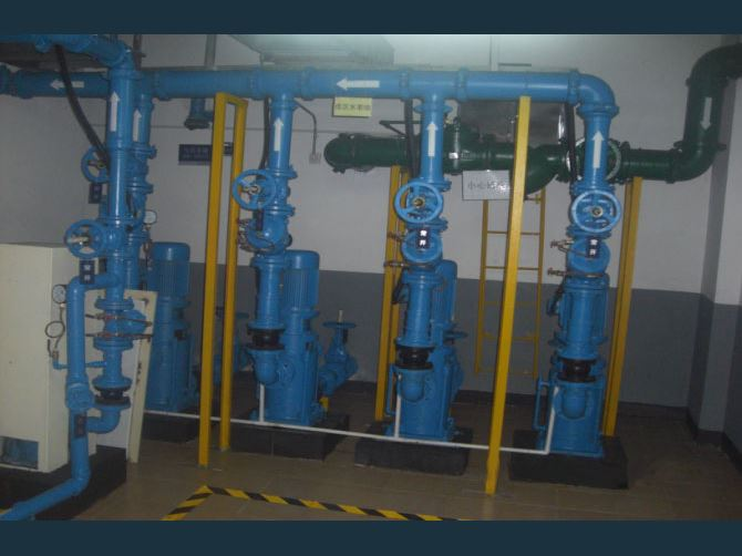 万科某小区生活水泵房降噪治理