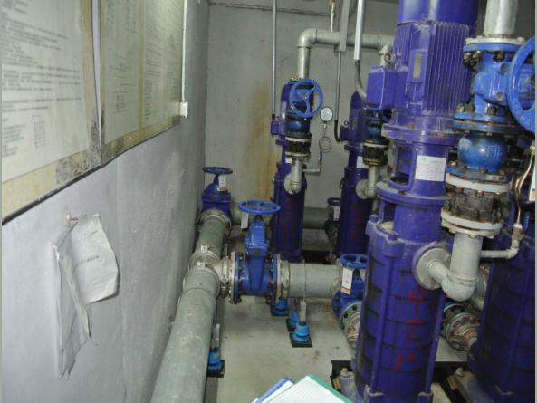 东莞某生活水泵房降噪治理