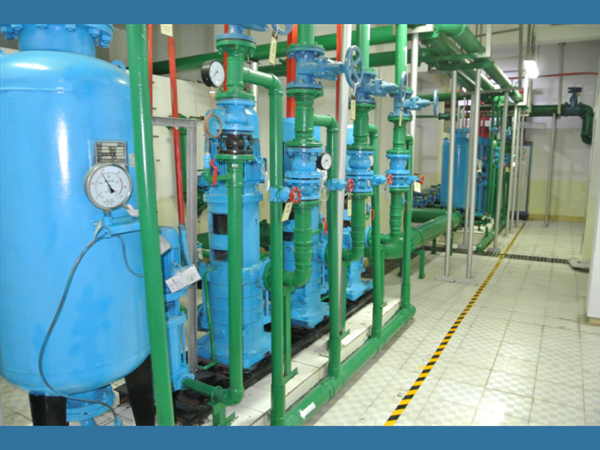 碧桂园生活水泵降噪治理