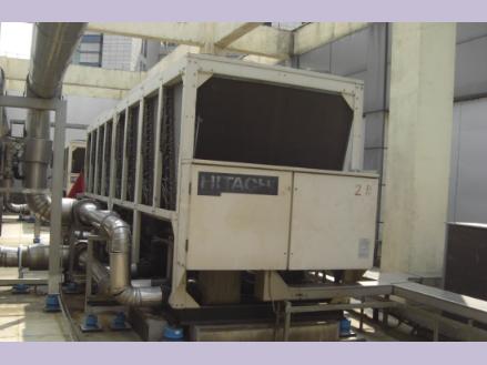 珠海市办事中心空调风冷热泵减振降噪治理