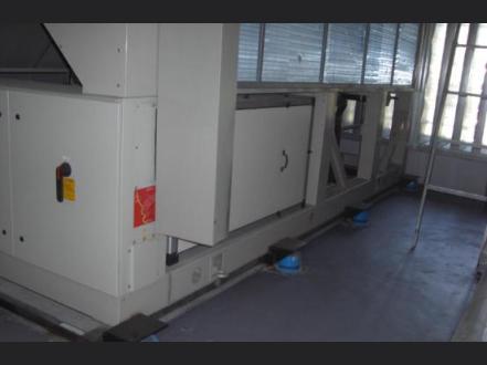 中山中航地產中心空調風冷熱泵減振降噪治理工程