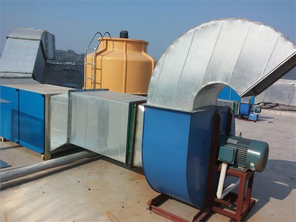 深圳市某电子有限公司车间废气处理工程