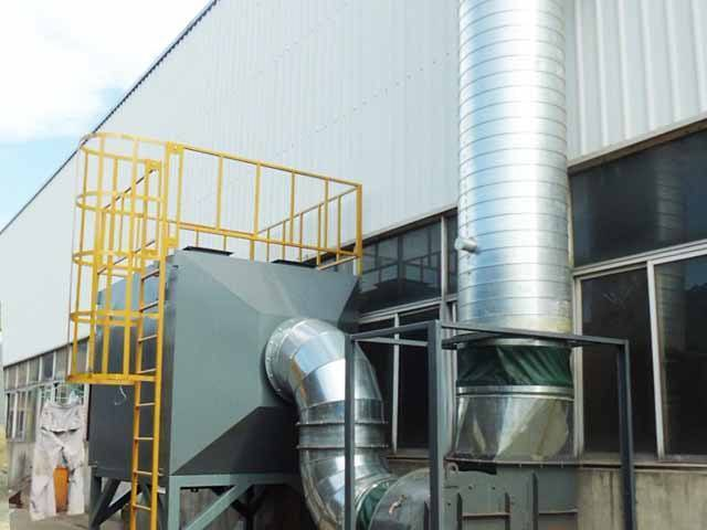 PVC工業煙霧廢氣治理