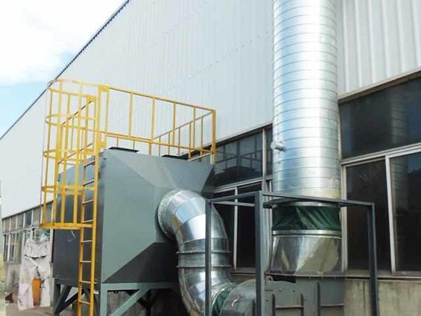 PVC工业烟雾废气治理