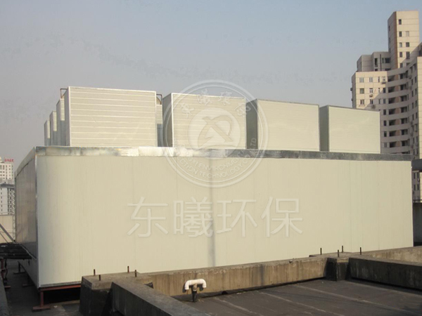 深圳某商业大厦冷却搭基础降噪治理